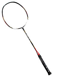 Raquettes de badminton(Blanc Noir,Nylon) -Durable
