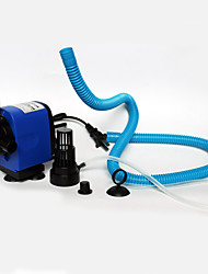 Aquarium Air Pump Water Pump Filter Noiseless Adjustable Plastic AC 220-240V