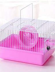Cages Plastic Coffee Blue Blushing Pink