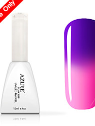 Azure UV Color Changing Gel Nail Polish13#-24#(12ml,48 Colors)