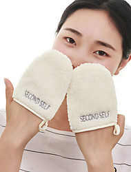 1 Pcs Gloves Makeup And Cleansing Wash Gloves Discharge Makeup Gloves Wash Gloves Cleansing Save Face Robot 12.5*10Cm