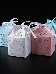 25 Stück / Set Geschenke Halter-Quader Kartonpapier Perlenpapier Geschenkboxen Nicht personalisiert