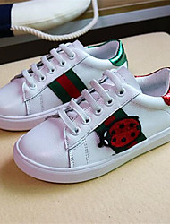 Boy's Sneakers Comfort PU Casual White