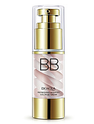 Bioaqua Brand Nude Concealer Moisturizing Bb Cream Makeup Whitening Brighten Oil-Control Hyaluronic Acid Base Bb Cream Cosmetics