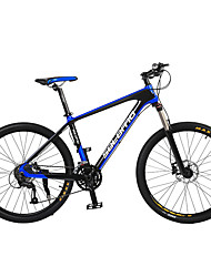 Mountain Bike Cycling 27 Speed 26 Inch/700CC Unisex Adult SHIMANO Oil Disc Brake Suspension Fork Carbon Ordinary/Standard CarbonYellow