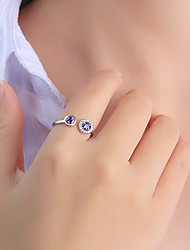 Ring Daily Casual Jewelry Silver Ring 1pcOne Size