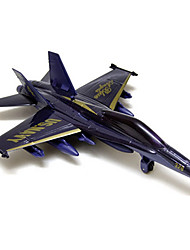 Planes & Helicopters Push & Pull Toys 1:10 Metal White Yellow Gray Purple