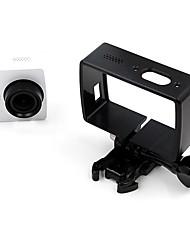 TELESIN YI-FMS-002-BK Smooth Frame For Xiaomi Camera Reise Ski Fahhrad Fallschirmspringen Klettern