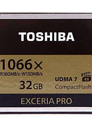TOSHIBA 32GB Compact Flash CF Card memory card EXCERIA Pro 1066X VPG-65