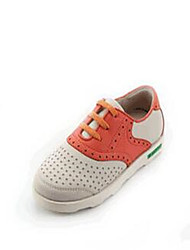 Girl's Sneakers Comfort PU Casual White Almond
