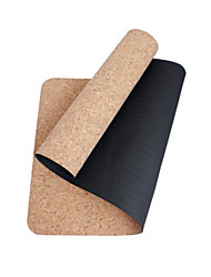 TPE Tapis de Yoga Ecologique Sans odeur 5 mm Noir Other