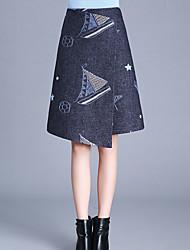 2016 nouveaux modèles d'hiver dans les laine section de longues jupes une jupe asymétrique enfant laine jupe tutu mot jupe