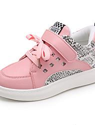 Девочки Кеды Удобная обувь сутулятся сапоги Полиуретан Весна Осень Зима Повседневные Для прогулок Удобная обувь сутулятся сапогиНа