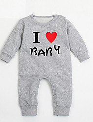 Baby Casual/Daily Print One-Pieces,Rayon Fall Long Sleeve