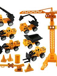 Veículos da construção Puxar para trás Veículos 1:20 ABS Amarelo