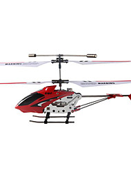 SYMA S107G 3 Channel Infrared Remote Control Mini Helicopter with Gyro 100KM/H Red