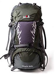 45 L Заплечный рюкзак Пригодно для носки Черный Фиолетовый