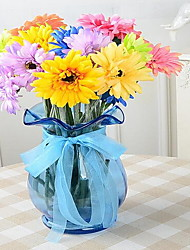 1 Branch Gerbera Artificial Flowers (Random color)