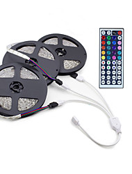 15M  3*5M 3528 RGB 900 LED With Flexible Light With LED Lights With No Water DC 12V 900LED And 44Key Infrared Remote Control Kit