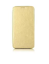 Pour Porte Carte Coque Coque Intégrale Coque Couleur Pleine Dur Cuir PU pour Samsung Note 5 Note 4