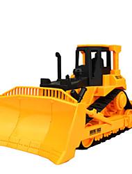 Baufahrzeuge Pull Back Fahrzeuge 1:24 Metall Plastik Gelb