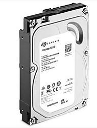 Seagate 2TB SSHD unidade de disco rígido 7200 SATA 3.0 (6Gb / s) 64MB esconderijo 3.5 polegadas-ST2000DX001