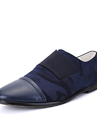 Для мужчин обувь Кожа Полиуретан Весна Лето Осень Зима Удобная обувь Мокасины и Свитер Для прогулок Ленты На эластичной ленте Назначение