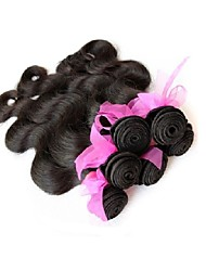 new 12a top grade quality original brazilian virgin hair body wave style 5bundles 500g lot unprocessed human hair weaves natural black last long time