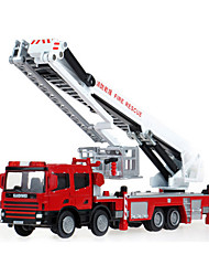Fire Engine Vehicle Toys 1:50 Metal ABS Plastic Red