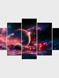 Impression sur Toile Personnage Fantaisie Moderne Classique,Cinq Panneaux Toile Toute Forme Imprimer Art Décoration murale For Décoration