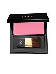 UMF Natural Soft Pressed Powder Natural Face Blush Powder Blusher Palette Shimmer Makeup with Brush 3D Pure Mineral