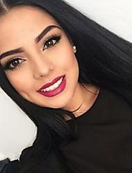 volle Spitze-Menschenhaarperücken malaysischer remy Haar Promi-Stil für Frauen