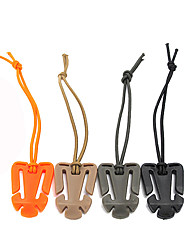 5Pcs  Hang Buckle Hang Strap Clip Webbing Military Dominator Tactical Hiking Backpack Buckle Gadgets Random color
