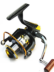 Fishing Reel Spinning Reels 2.6:1 1 Ball Bearings Exchangable General Fishing-LF2000-7000