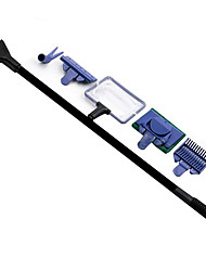 Aquarium Cleaners Adjustable Plastic