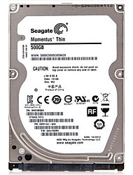Seagate 500GB Laptop / Notebook disco rígido 5400rpm SATA 3.0 (6Gb / s) 16MB esconderijoST500LT012