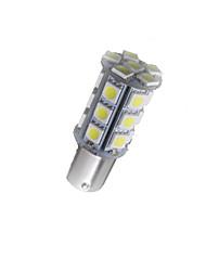 10x super lumineux BA15s blancs signal lumineux arrière tour 1156 voiture 27 Ampoule LED SMD 12v