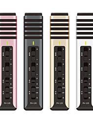 NO Проводной Микрофон для караоке 3,5 мм Черный Розовый Серебро Золотистый