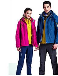 Trilha Blusas Unissexo Forro de Velocino Primavera Outono Inverno Vermelho Azul M L XL Esportes Relaxantes