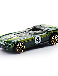 Race Car Toys 1:64 Metal Plastic Green