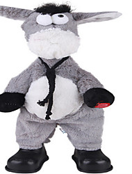 Novelty Toy Gray Textile