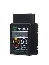 Elm327 obd2 obdii беспроводной bluetooth 2.1 obd 2 obd ii диагностический сканер считывателя производительности plug and drive chip tuning