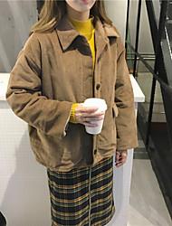 Sign ~ plus thick velvet corduroy coat pocket