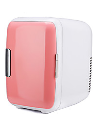 CI Baijia 4л розовый автомобиль холодильник автомобиль домой двойной мини-холодильник автомобиль теплые и холодные коробки общежития