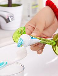 Pasta de dientes Exprimidor Múltiples Funciones Ecológico Viaje Plástico Inodoro baño Caddies