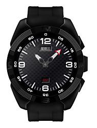 1.2inch inteligente relógio mtk2502 frequência cardíaca smartwatch câmera do monitor de fitness chamada SMS Tracker lembrete para ios