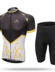 XINTOWN Camisa com Shorts para Ciclismo Mulheres Homens Unisexo Manga Curta Moto Calças Camisa/Roupas Para Esporte Shorts BlusasSecagem