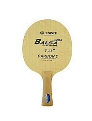 Ping Pang/Table Tennis Rackets Ping Pang Wood Table Tennis Blade Short Handle Pimples