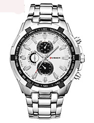 Fashion Watch Swiss Designer Quartz Alloy Band Luxury Black White