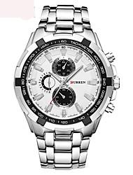 Модные часы швейцарцы Оригинальный рисунок Кварцевый сплав Группа Люкс Черный Белый